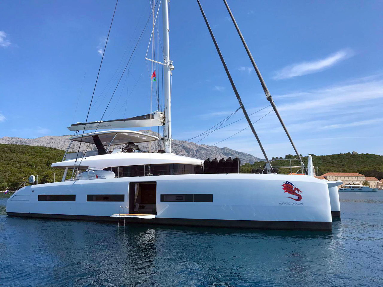Lagoon 77 ADRIATIC DRAGON | Catamaran Charter Croatia