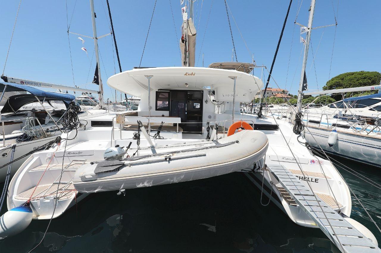 Lipari 41, LUBI | Catamaran Charter Croatia