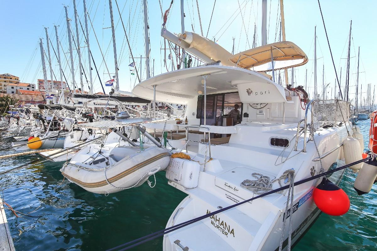 Lipari 41, Mahana | Catamaran Charter Croatia