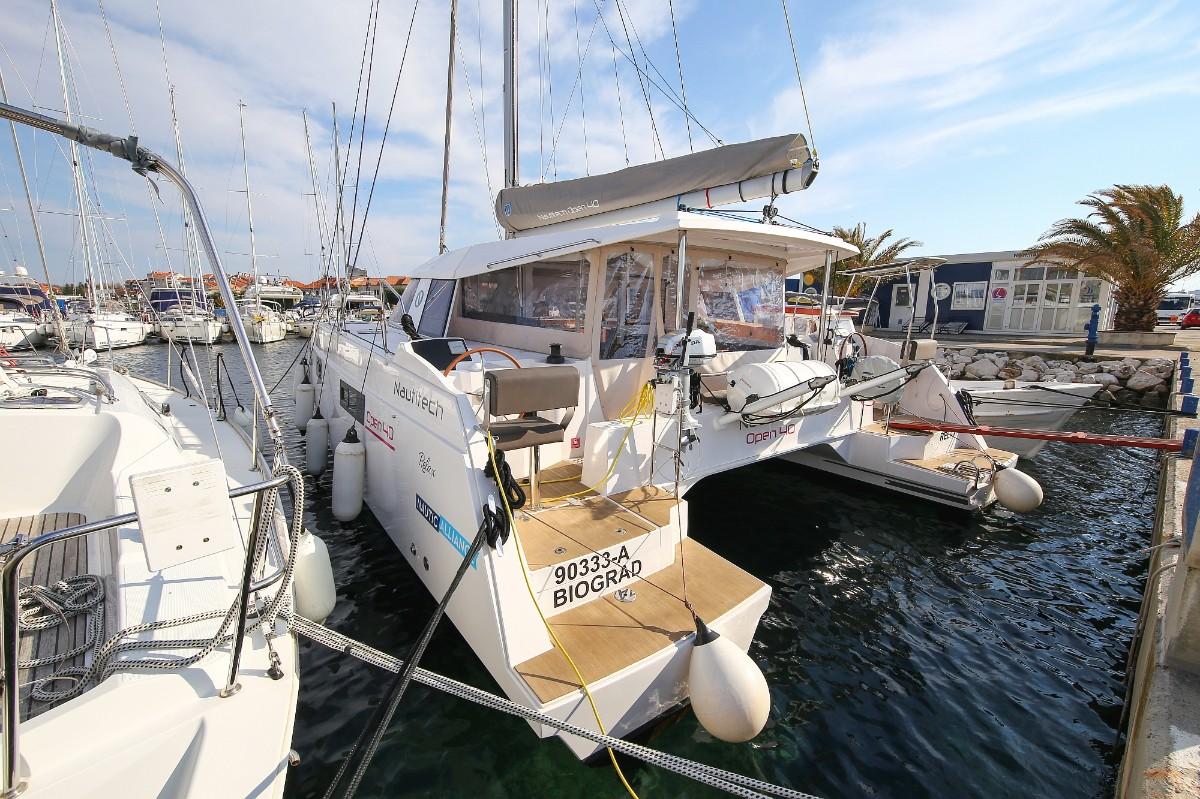 Nautitech 40 Open, Relax | Catamaran Charter Croatia