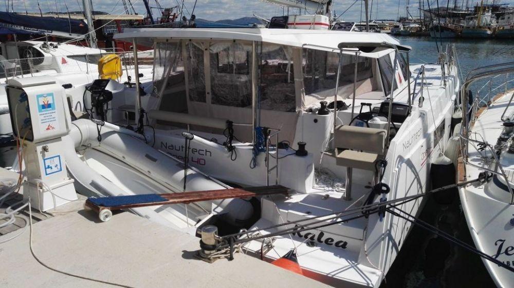 Nautitech 40 Open, Kalea | Catamaran Charter Croatia
