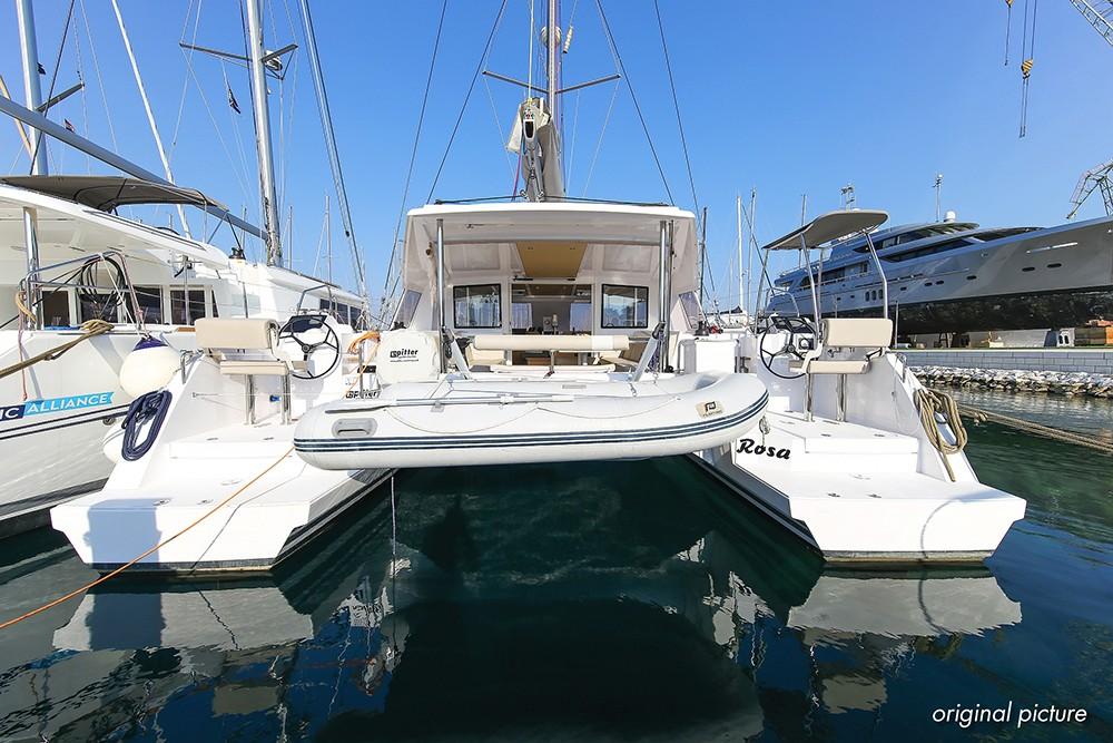 Nautitech 40 Open, Rosa | Catamaran Charter Croatia