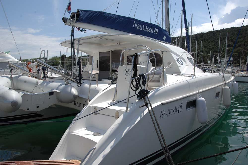 Nautitech 40, Rapido | Catamaran Charter Croatia