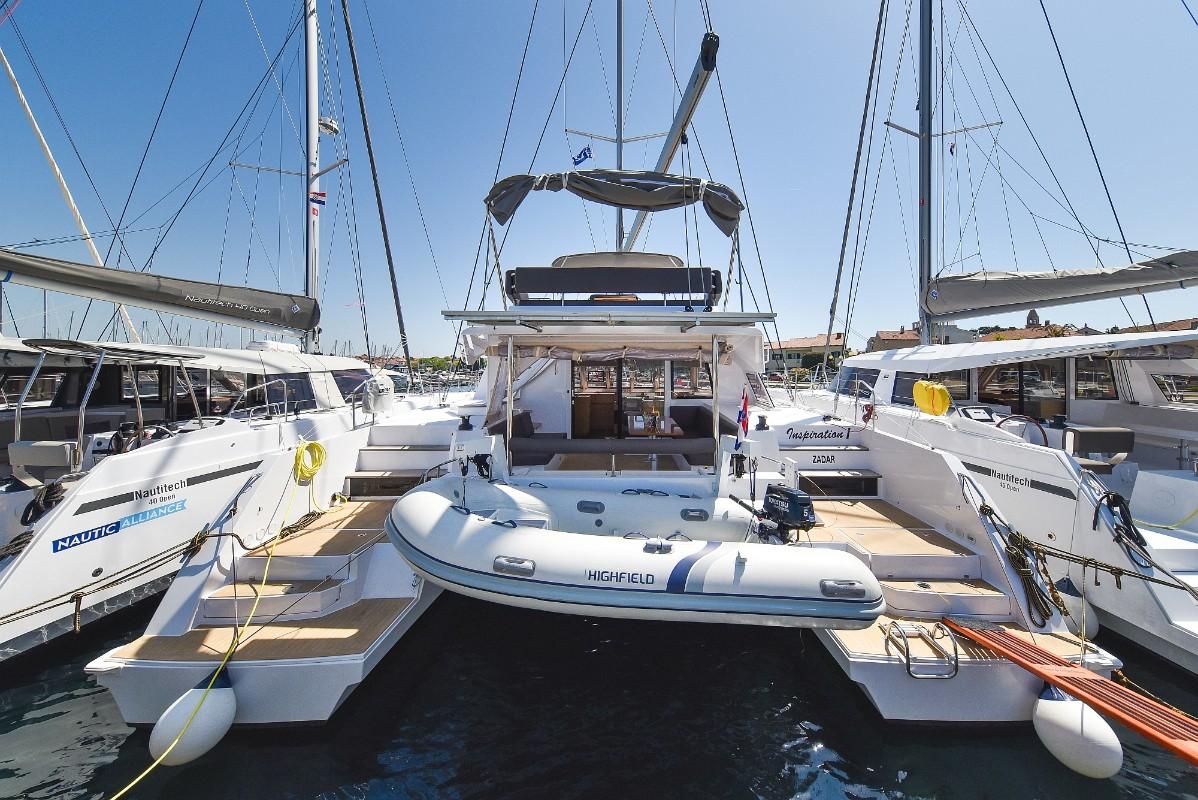 Nautitech 46 Inspiration I | Catamaran Charter Croatia